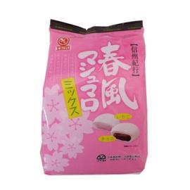 Tenkei Haru-Kaze strawberry & chocolate filled marshmallows