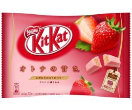 KitKat mini - Strawberry - zak 12 stuks