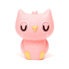 Owl Night Light - Peachy Pink