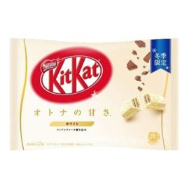 KitKat mini White Chocolate - zak 12 stuks