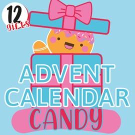 12 GIFTS TILL CHRISTMAS - Japans Snoep Advent Kalender