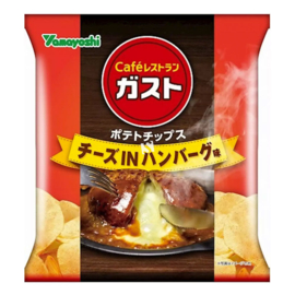 Japan Potato Chips Cheese in Hamburger Steak