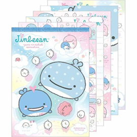 Memopad Large Jinbesan Love Mother - Blue