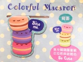 Magnetic bookmark Macarons