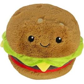 Squishable Snugglemi Snackers - 5 inch mini Hamburger
