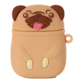 Silicone case for wireless earbuds - Pug