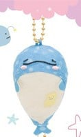 Jinbesan keychain 1 - Official San-X Plush