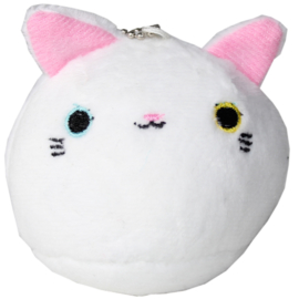 Plushie Kawaii cat - wit