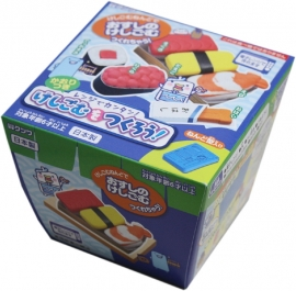 Kutsuwa Eraser Kit DIY Sushi