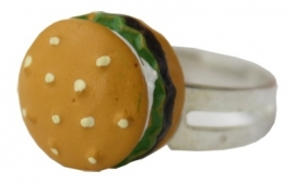 Kawaii ring Hamburger