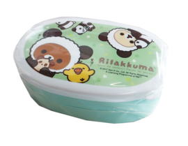 Bentobox San-X Rilakkuma Panda Clovers Small