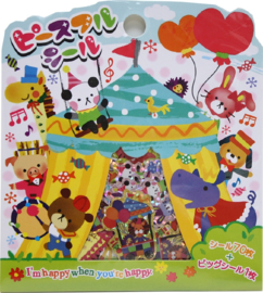 Stickerzakje Circus Friends