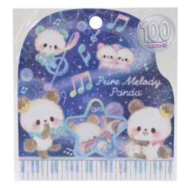 Sticker sack Pure Melody Panda Bear