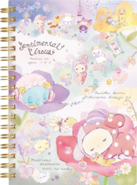 Notebook San-X Sentimental Circus Flowerpower