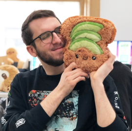 Squishable - 7 inch Avocado Toast