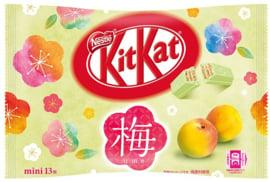 KitKat mini Ume Plum - zak 13 stuks