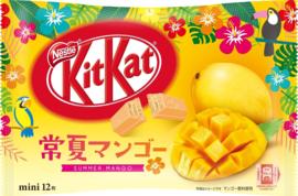 KitKat mini Summer Mango - 12 pcs mini's