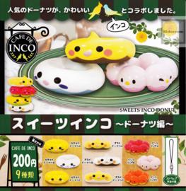 Sweets Inco donut Phonecharm - surprise! (gashapon)