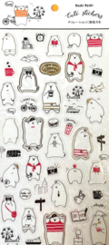 Stickersheet White Bear seal