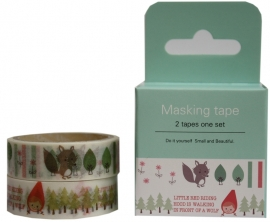 Washi Tape Set 2 - Red Hood