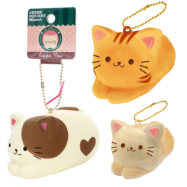Squishy Cafe Sakura - Chilling Cat - Pick one