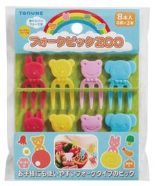 Kawaii Zoo - Food Picks für Bento Box