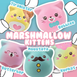 Squishy Puni Maru Marshmallow Kitties - pick one