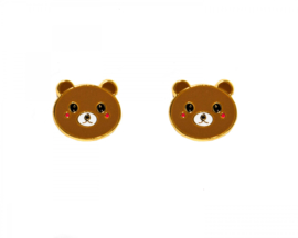 Kawaii Earrings - Bear