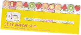 Stick Marker Slim - Fruit - Haftnotizen / Index-Streifen