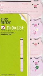 To-Do Stickies - Pigs