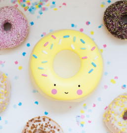 Spaarpot Donut Geel