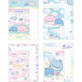 Briefpapierset San-X Jinbesan Love Mother