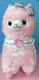 AMUSE Alpacasso Marine XL Plush Pink (45cm)