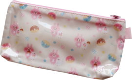 Pencil Pouch Pink Kawaii