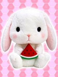 Amuse  Loppy Rabbit XL Plush - White (41 cm)