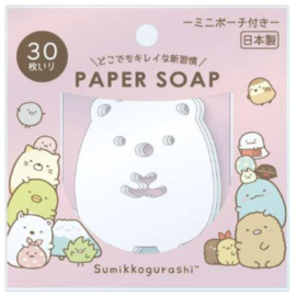 San-X Sumikkogurashi Paper Soap Pink