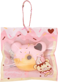 Yummiibear Mini Bear Donut Squishy Creamiicandy
