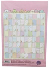 A5 briefpapier Sumikko Gurashi - 80 sheets