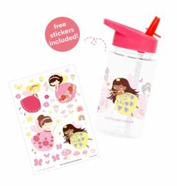 Drinkfles met rietje Fairy