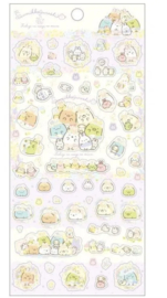 Stickersheet San-X Sumikkogurashi Fushigina Usagi No Oniwa - Happy family