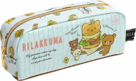Pencil case San-X Rilakkuma Hamburger