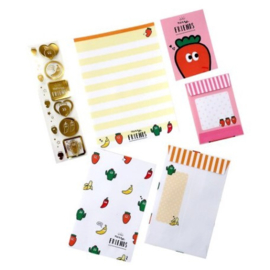 Mini Briefpapierset PuchiPuchi Carrot