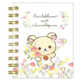 Notebook klein Korilakkuma Meets Chairoikoguma