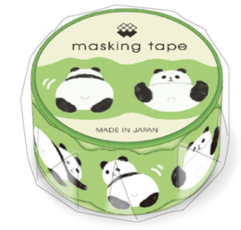 Washi tape -  Funky Panda Die-Cut