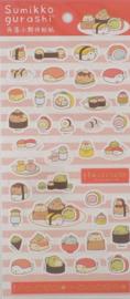 Stickervel Sumikkogurashi  sushi