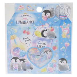 Sticker sack Sweet Penguin