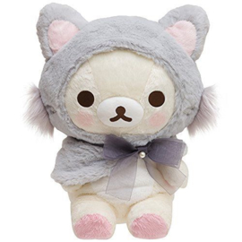 Korilakkuma grey Plush - 34 cm - Official San-X  (groot)