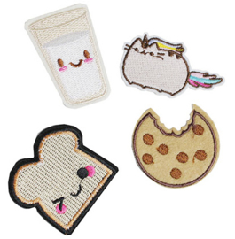 Patch Cookie, Milk, Toast of Pusheen