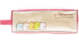 Pencil Pouch San-X Sumikkogurashi Pink - small