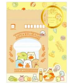 Briefpapierset San-X Sumikkogurashi Minna de Sumikkopankyo Shitsu